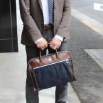 オロビアンコのビジネスバッグ(SENZAREGOLA-F 01)をレビュー