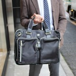 オロビアンコのビジネスバッグ(ANGOLOGIRO-G)をレビュー