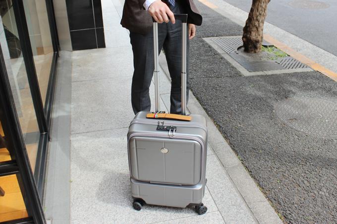 オロビアンコのスーツケース(ARZILLO横型)をレビュー