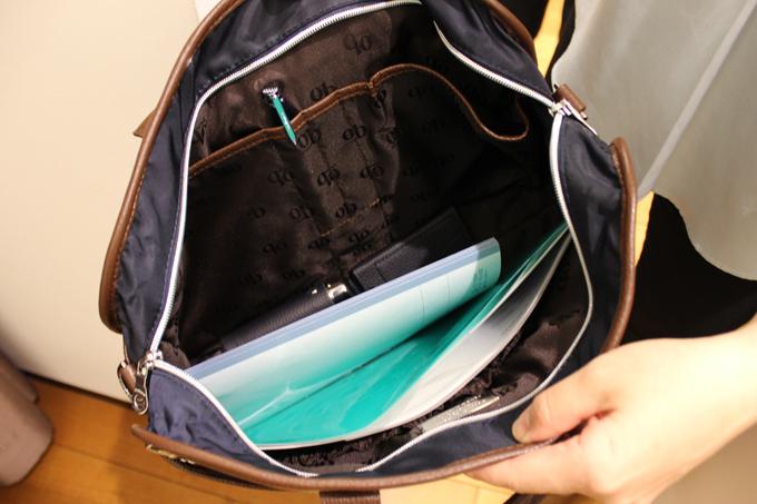 内部にも、細かいポケットが多くて、使い勝手はとてもいい