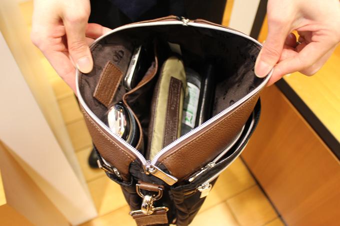 ポケットが多い