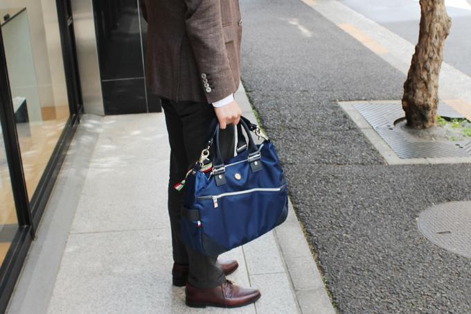 僕の愛用している、オロビアンコのバッグ『SILVOFFICE-G』