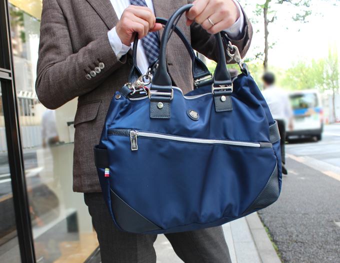オロビアンコのビジネスバッグ(SILVOFFICE-G)をレビュー