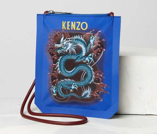 Dragon cross-body bag