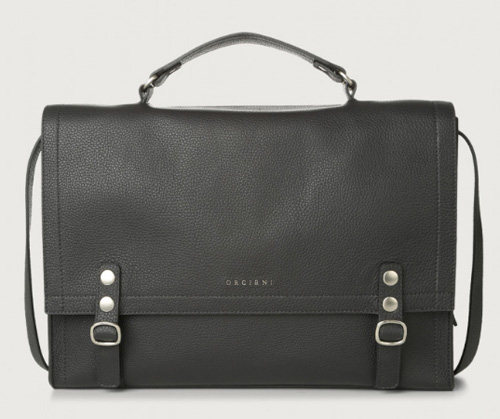 Pasadena leather briefcase