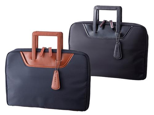 クラッチバッグとしても使用可能なブリーフケース