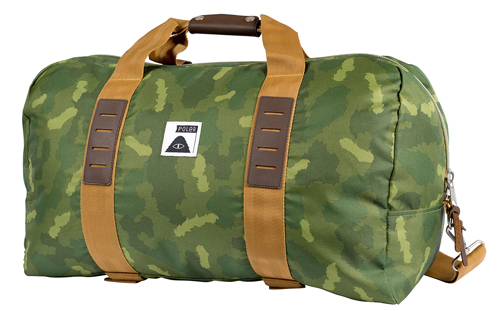 CARRY-ON DUFFEL - FURRY CAMO