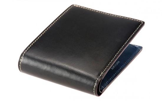 二つ折り財布(小銭入れ付き札入)■ブライドルレザー&ルーガショルダー [6272]