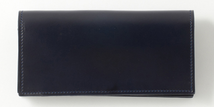 LONG WALLET WITH CURVED ZIP