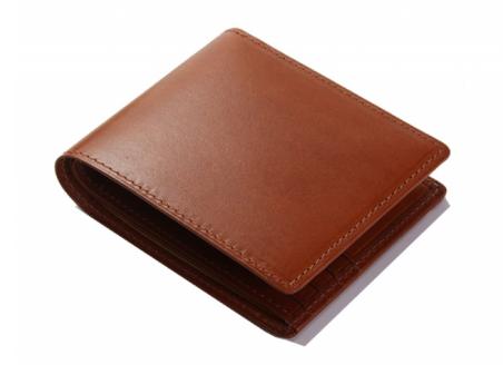 【1235】 二つ折れ財布小銭付