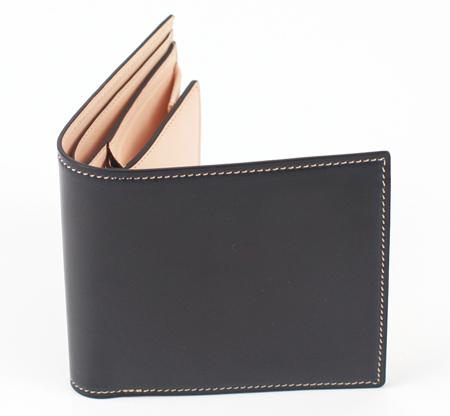 コードバン 二つ折り財布(小銭入付)
