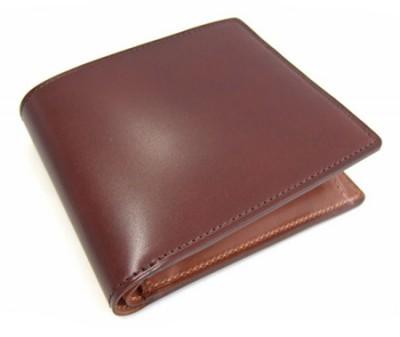 Natural Cordovan(ナチュラルコードバン)  二つ折り財布(小銭入れあり) 「プレリーギンザ」 NP48130