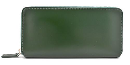 CORDOVAN1957(コードバン1957)ラウンドファスナー長財布 「プレリー1957」 NP12030