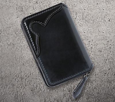 CC-013 CORDOVAN ×多脂革 COIN CASE