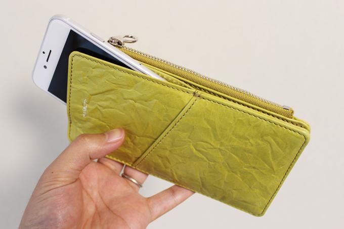 スマホケースに、ちょっとした財布機能