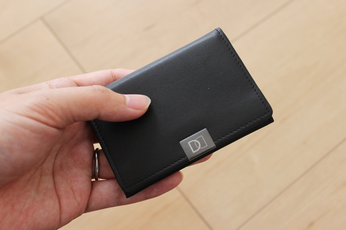 薄くて小さい財布DUN FOLD(ダンフォルド)の感想をレビュー!
