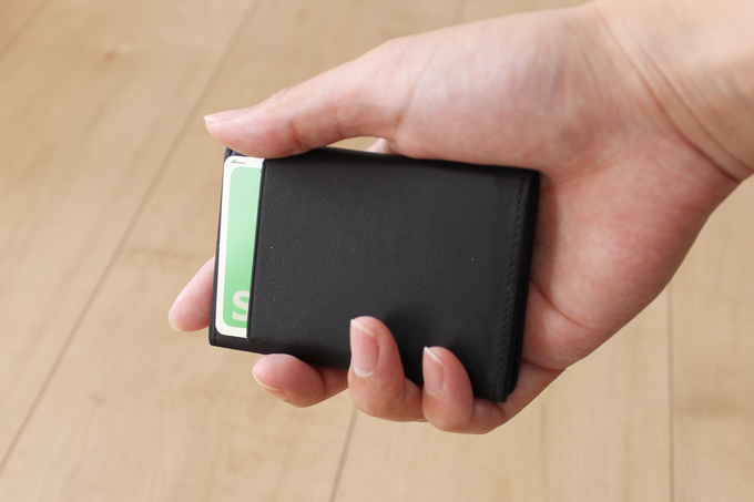 、超薄型財布、DUN FOLD の使用感レビュー