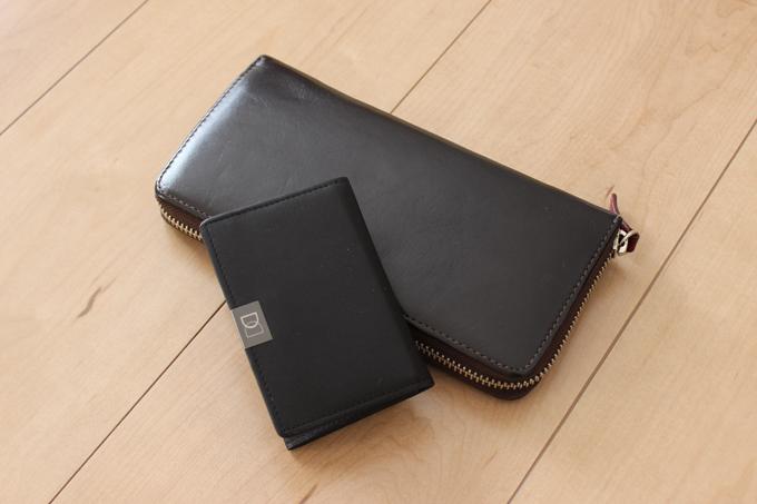 、それまで使っていた財布も、一緒に持ち歩いていた