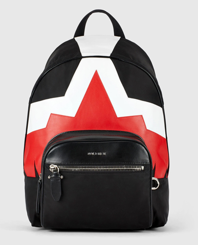 Framis Modernist Eagle Nylon & Leather Classic Backpack