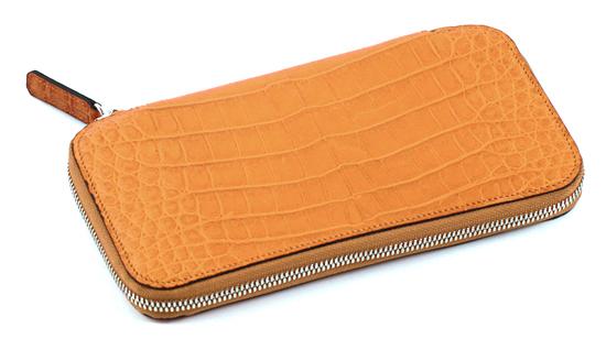クロコダイル ラウンド財布