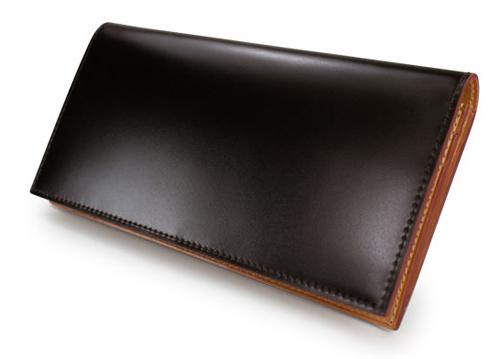 CORDOVAN (コードバン) ファスナー小銭入れ付き長財布