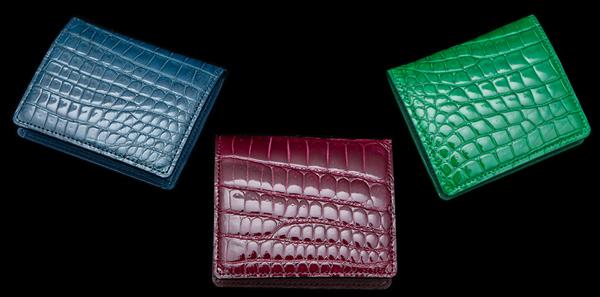 Crocodile Coincase(クロコダイル コインケース)小銭入れ