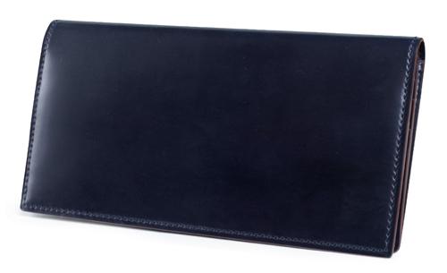 SHELL CORDOVAN 2 (シェルコードバン2)ファスナー小銭入れ付き長財布