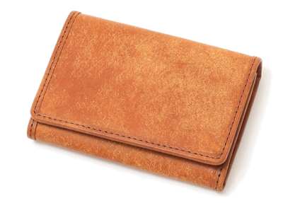 プエブロレザー コイン&カードケース