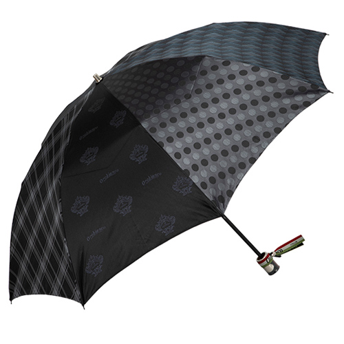 パッチワーク柄折り畳み傘