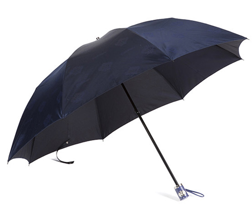 コロナロゴ総柄折り畳み傘