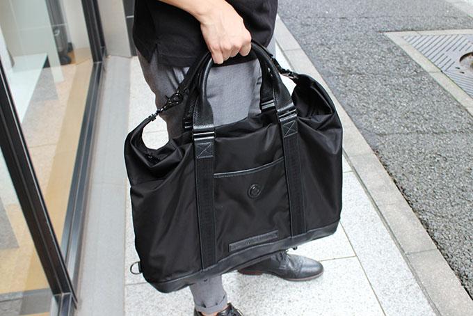 オロビアンコのトートバッグ、KOMPLIMENTI-G ALL BLACK