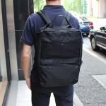 オロビアンコのバックパック『PUNTUALE-G ALL BLACK』