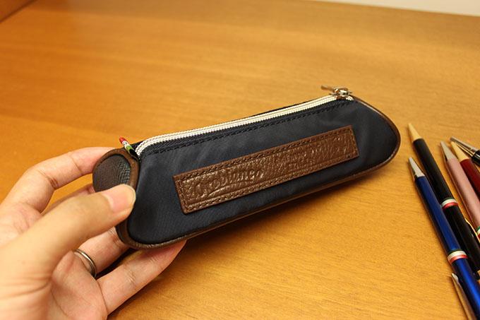 オロビアンコのペンケース『3C BACKSTAGE S-OBGI(BLU SCURO)』
