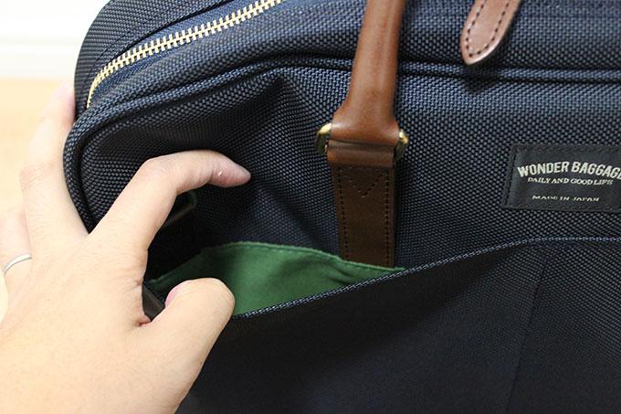 外側のポケット
