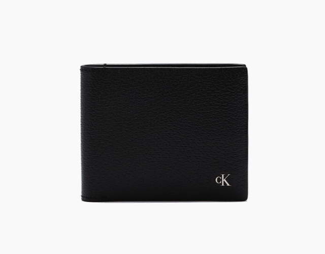 MONOGRAM TEXTURE BILLFOLD WALLET