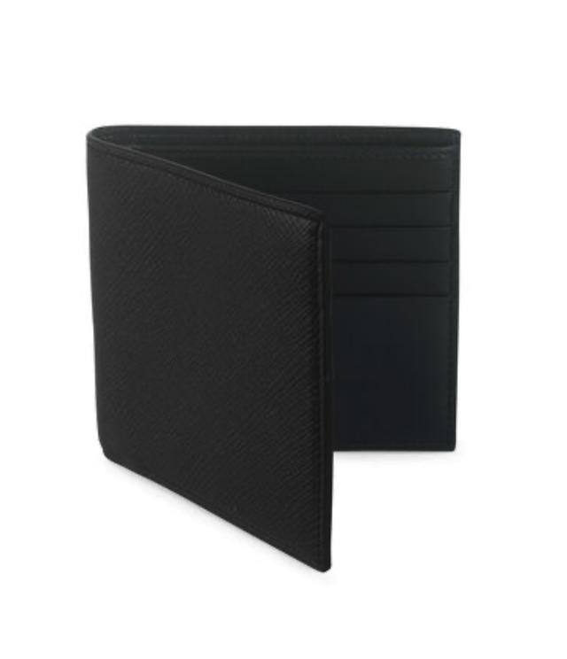 スマイソン パナマ 8カードウォレット ブラック