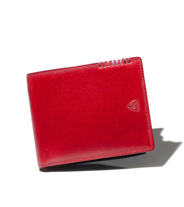 【オイルコードバン】フォール 二つ折り財布 カード段10 No.614606