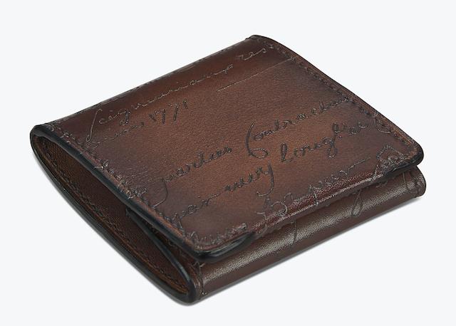 Origine Epure Scritto Leather Coin Purse