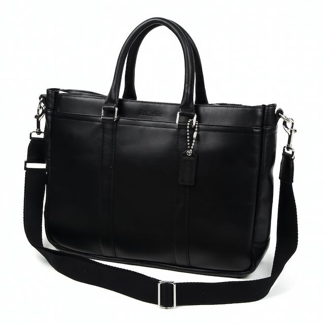 一流の革職人が作る 上質なカーフレザーで製作した2wayビジネスバッグ