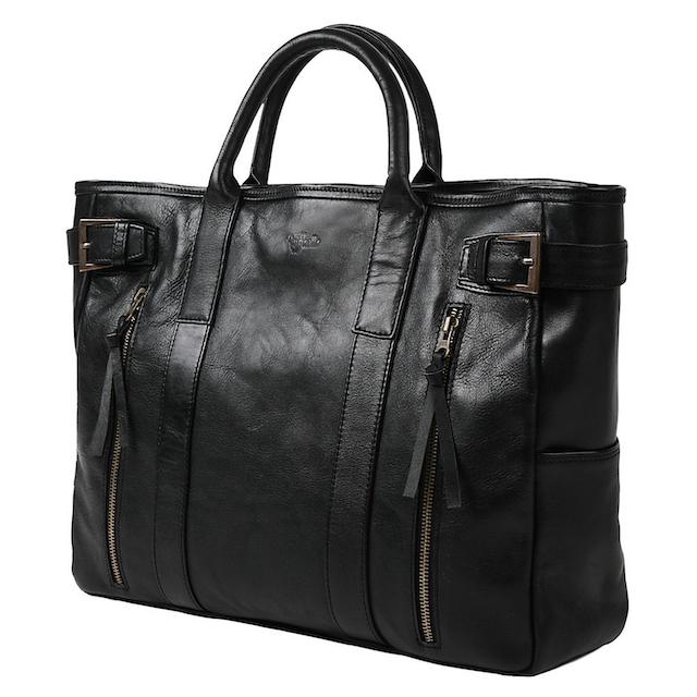 一流の革職人が作る 極上のカーフレザーを使用したビジネスバッグ