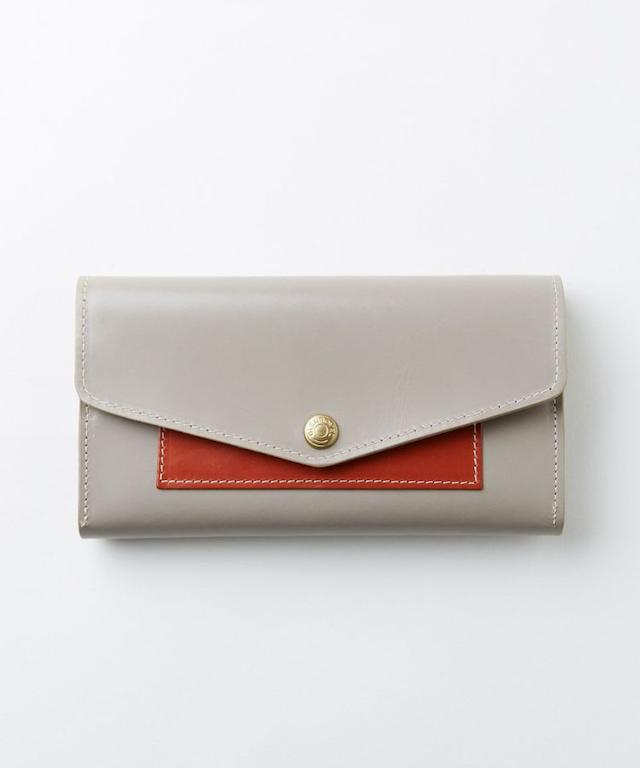 フラップ付き長財布(グレイスコレクション)