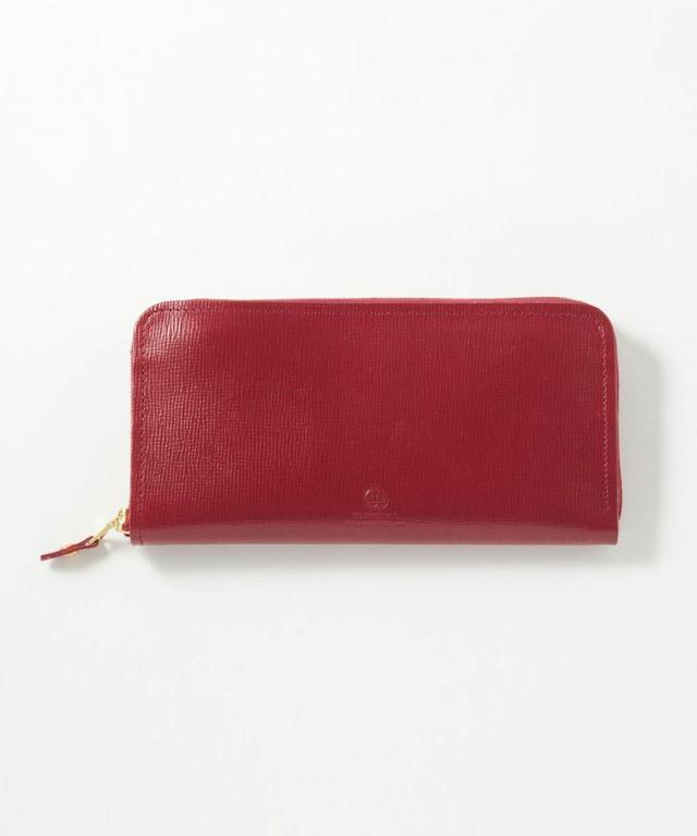 ラウンドジップ長財布(エンボス) 全4色