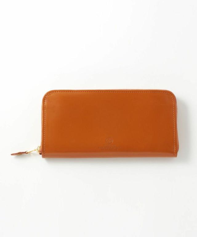 ラウンドジップ長財布(コードバン)