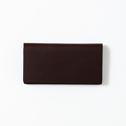 saddle pull up -long wallet-
