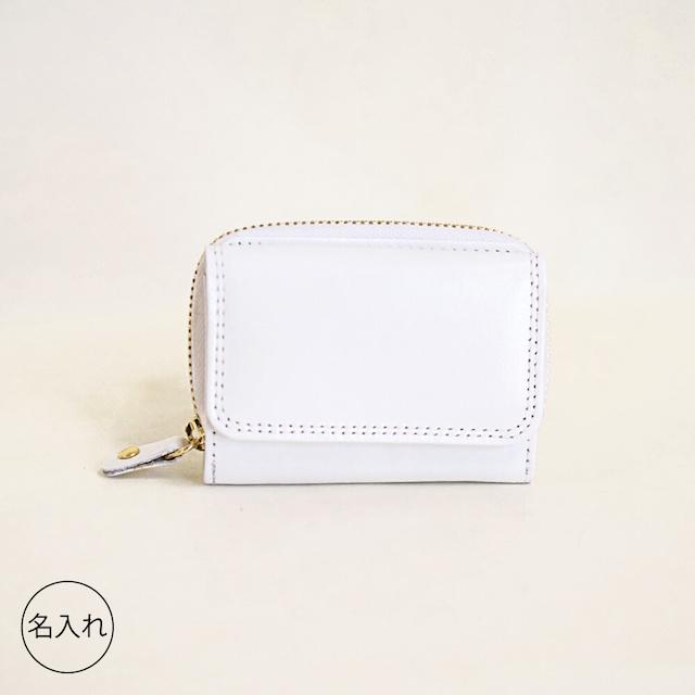 tiny ミニ財布 White