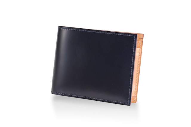CORDOVAN (コードバン) 小銭入れ付き二つ折り財布