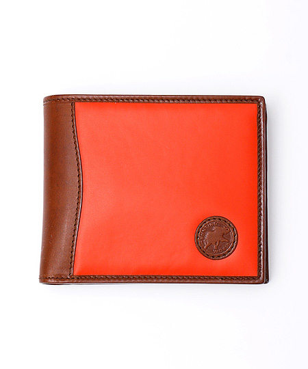 930BSS バチュー サーパス [二つ折り財布] オレンジ