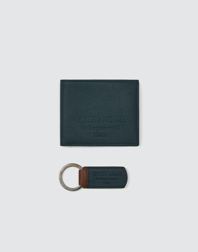 leather goods set