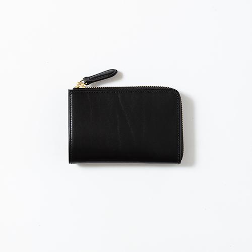 saddle pull up -L zip short wallet-