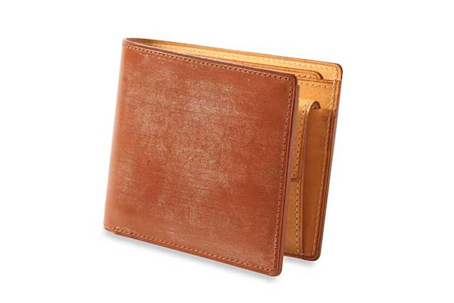 THIN BRIDLE (シンブライドル) 小銭入れ付き二つ折り財布